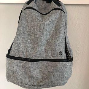 Lululemon Heather gray backpack